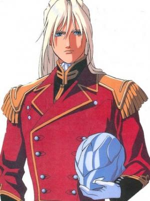 Zechs Merquise wig from Gundam Wing