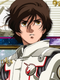 Banagher Links wig from Mobile Suit Gundam Unicorn