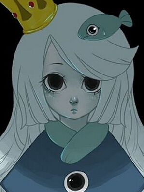 Princess Uomi Perücke von Wadanohara and the great blue sea