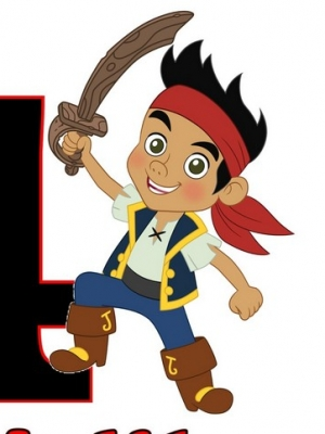 Jake wig from Jake and the Never Land Pirates