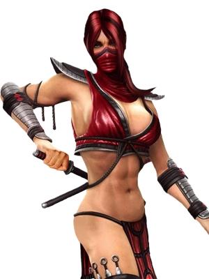 Skarlet wig from Mortal Kombat