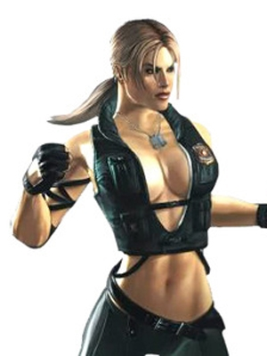 Sonya Blade wig from Mortal Kombat