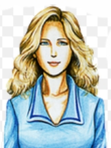 Laura wig from Clock Tower