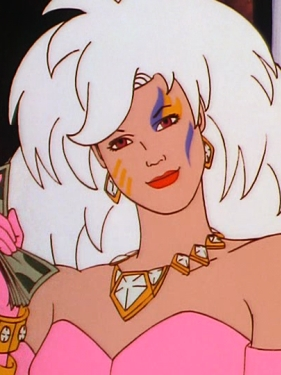 Roxy wig from Jem and the Holograms
