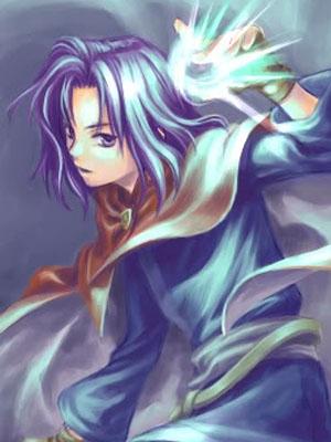 Erk wig from Fire Emblem: Rekka no Ken