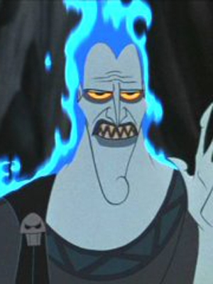 Hades wig from Hercules