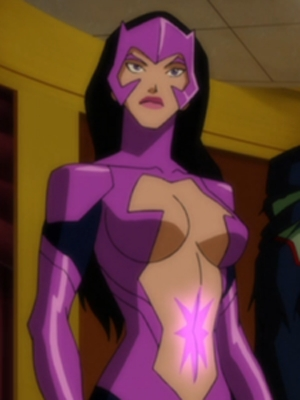Star Sapphire wig from Justice League