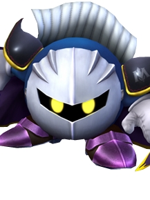 Meta Knight wig from Kirby's Dream Land
