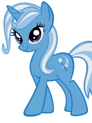 Trixie Lulamoon parrucca Da My Little Pony