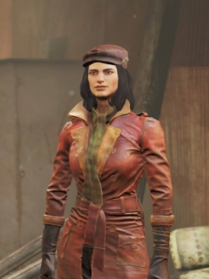 Piper wig from Fallout 4