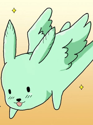 Flying Mint Bunny