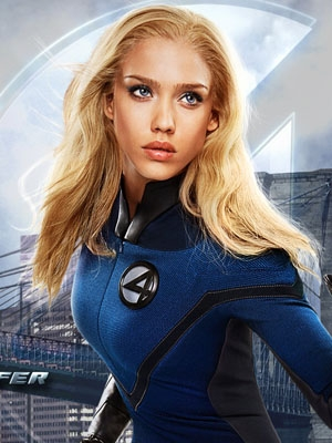 Invisible Woman wig from Fantastic Four