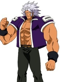 Elfman Strauss peluca de Fairy Tail
