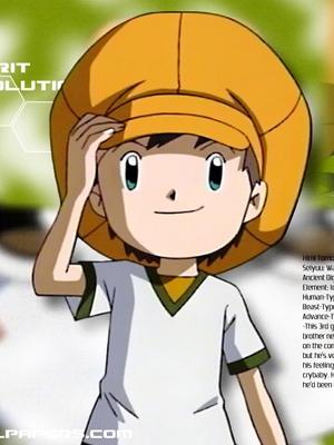 Tommy Himi parrucca Da Digimon Frontier