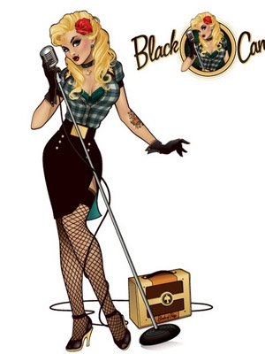 Black Canary wig from DC comics