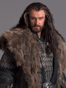 Thorin Oakenshield wig from The Hobbit