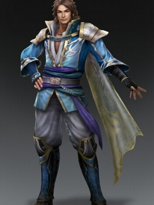 Sima Zhao wig from Dynasty Warriors
