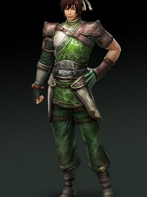 Guan Suo peluca de Dynasty Warriors