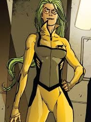 Polaris wig from All New X-Factor