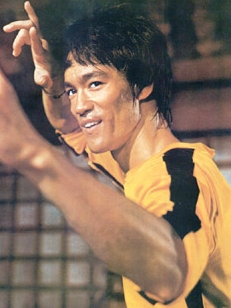 Bruce Lee wig from Celebrity