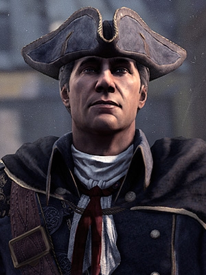 Haytham Kenway peluca de Assassin's Creed