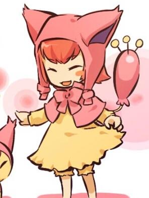 Skitty wig from Pokemon