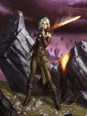 Nahiri the Lithomancer wig from Magic: The Gathering