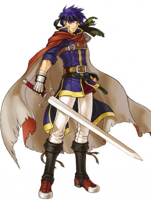 Ike wig from Fire Emblem: Path of Radiance