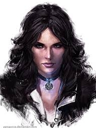 Yennefer wig from Witcher 3 The Wild Hunt
