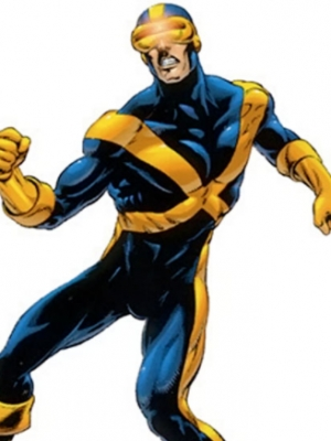 Cyclops peluca de Marvel Comics