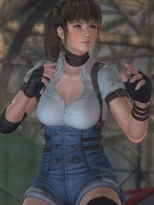 Hitomi wig from Dead or Alive