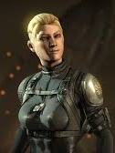 Cassie Cage wig from Mortal Kombat