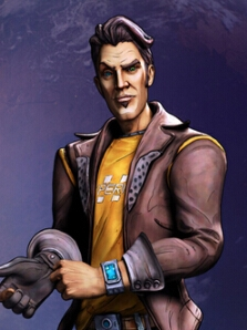 Handsome Jack wig from Tales from the Borderlands