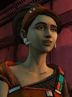 Sasha peluca de Tales from the Borderlands