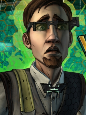 Vaughn peluca de Tales from the Borderlands