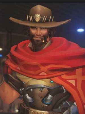 Jesse Mccree wig from Overwatch