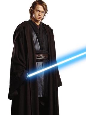 Anakin Skywalker wig from Star Wars