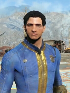Vault 111 wig from Fallout 4