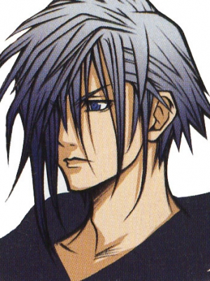 Zexion wig from Kingdom Hearts