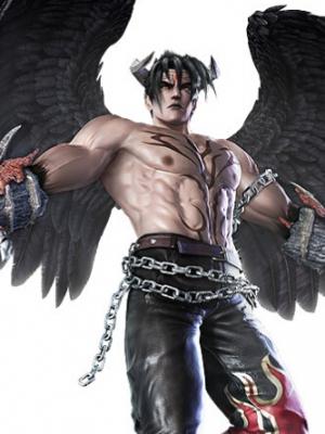 Devil Jin peluca de SoulCalibur