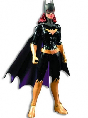 Batgirl wig from Injustice: Gods Among Us