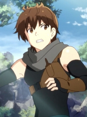 Haruhiro Perücke von Grimgar of Fantasy and Ash
