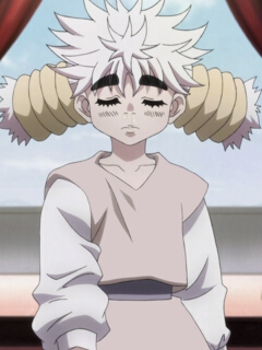 Komugi wig from Hunter X Hunter