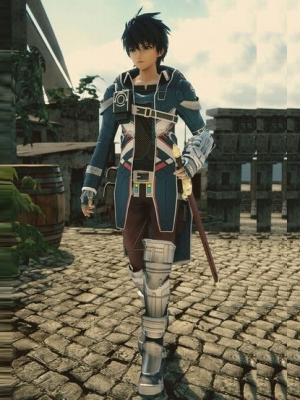 Fidel Camus wig from Star Ocean: Integrity and Faithlessness