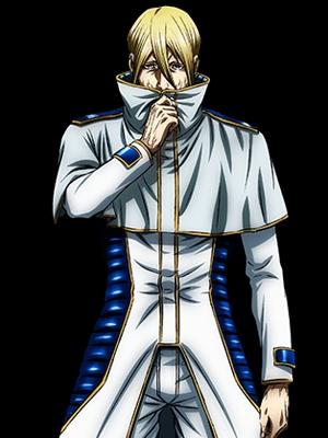 Adolf Reinhard wig from Terra Formars