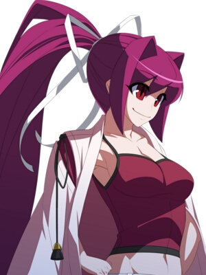 Yuzuriha wig from Under Night In-Birth