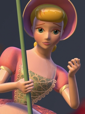 Bo Peep wig from Toy Story