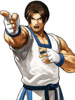 Kim Kaphwan peluca de The King of Fighters