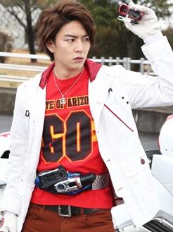 Go Shijima wig from Kamen Rider Drive