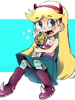 Star Butterfly parrucca Da Star vs. the Forces of Evil